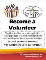 The Hospice Shoppe Needs Volunteers