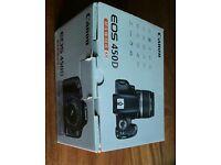 EOS 450D DSLR + 18-55 lense