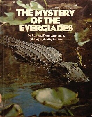 Mystery of the Everglades by Graham and Frank SIGNED 1972 National Park Book!