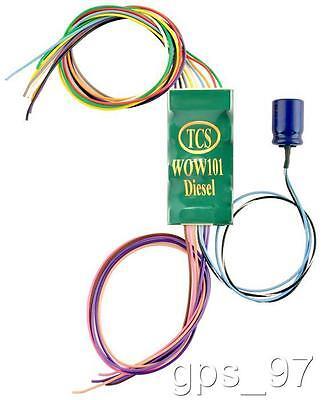 HO TCS 1530 WOW101- Diesel - EMD  WOW Sound Diesel Loco Decoder New Sounds - New