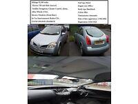 Nissan Primera Hatchback (2004) P12 2.0 SVE CVT 5dr