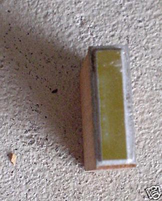 Vintage Wood Metal Printers Block Letter I Letterpress