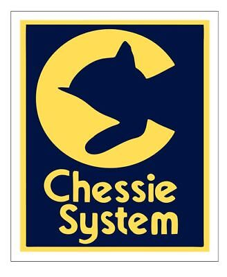 Chessie System Railroad Sticker Decal R6987 Railway Train Sign YOU CHOOSE SIZE (Train Stickers)