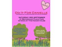 DifD 3mile sponsored walk to raise awareness for depression. Fun day out for all...Bring a picnic!