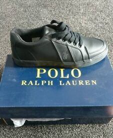 Polo Ralph Lauren trainers (size 8)