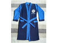 ***Boys Chelsea football dressing gown age 11-12
