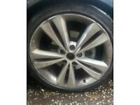 """Skoda octavia vrs 18"""" Alloys with legal tyres looking to swap for mkv golf gti Alloys"""