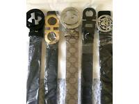 Men's women's belts/hermes/gucci/ferragamo