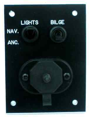 Marineworks 101-1 Accessory Switch Panel 18435