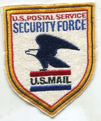Obsolete United States Postal Service Security Force Police Patch U.S.