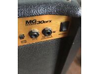 Marshall amp 30dfx with two spare leads