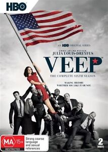 VEEP COMPLETE SIXTH SEASON 6 DVD Region 4 BRAND NEW & SEALED!