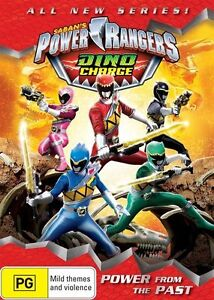 Dino Charge: Power from the Past DVD R4