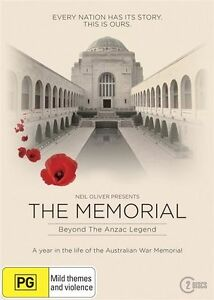 Memorial - Beyond The Anzac Legend DVD R4 New & Sealed