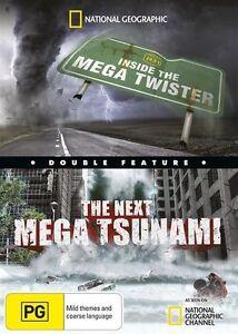 The National Geographic - Inside The Mega Twister / Next Mega Tsunami (DVD,...