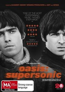 Oasis: Supersonic - Fiona Neilson NEW R4 DVD