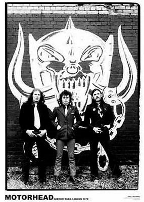 MOTORHEAD - Poster - Vintage Photo, Lemmy - NEW in Plastic Rolled