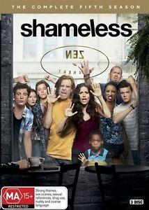 Shameless: Season 5 (DVD, 2016, 3-Disc Set), NEW SEALED REGION 4