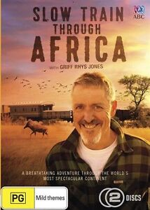 NEW..Slow Train Through Africa With Griff Rhys Jones..FREE DELIVERY.. dvd946