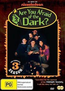 Are You Afraid Of The Dark : Season 3 (DVD, 2015, 2-Disc Set) New Region 4