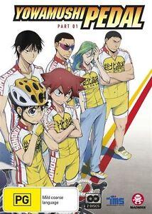 Yowamushi Pedal Part 1 (Eps 1-12) (Subtitled Edition) NEW R4 DVD
