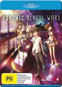 Psychic School Wars NEW B Region Blu Ray