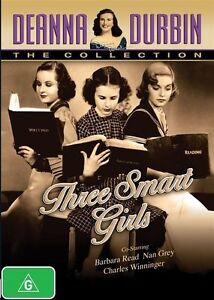 Deanna Durbin - Three Smart Girls (DVD, 2014) R4