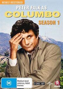 Columbo : Season 1 (DVD, 2015, 5-Disc Set) BRAND NEW REGION 4