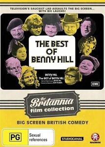 The Best of Benny Hill - The Movie: Britannia Collection NEW R4 DVD