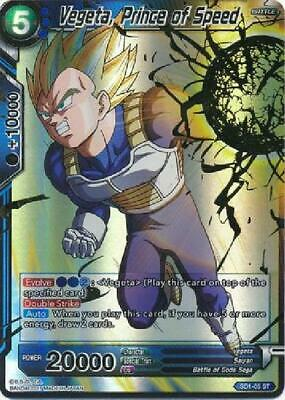 Prince Vegeta TB3-023 FOIL C Dragon Ball Super TCG Near Mint