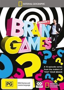 National Geographic: Brain Games Season 1 NEW R4 DVD