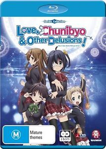 Love, Chunibyo & Other Delusions Series Collection Blu-ray Discs NEW