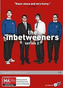 The Inbetweeners :  SERIES 2 / SEASON 2...REG 4...NEW & SEALED  d1794