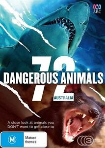 72 Dangerous Animals Australia (DVD, 2015, 3-Disc Set)  Brand new, Genuine D68