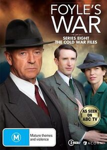 Foyle's War : Season 8 (DVD, 2015, 3-Disc Set)-REGION 4-Brand new-Free postage