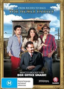 The Noble Family NEW R4 DVD