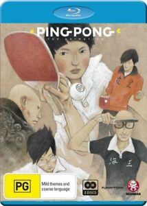 Ping Pong the Animation Blu-ray (Region B)(Brand New/Sealed)