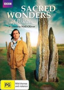 Sacred Wonders Of Britain (DVD, 2014) Genuine & unSealed (D118/D167/D170)(D171)