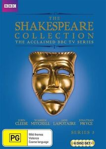 Shakespeare Collection : Series 3 (DVD, 2015, 6-Disc Set)