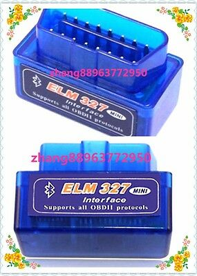 ELM327 OBD2 II V2.1 Bluetooth Car Diagnostic Interface Scanner Android Torque zh