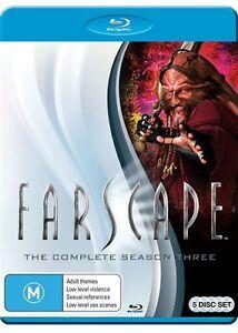 Farscape : Season 3 (Blu-ray, 2014, 5-Disc Set) - Region B