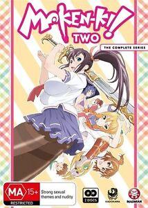 Maken-Ki! Two Complete Series NEW R4 DVD