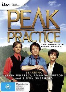 - Peak Practice : Complete Series 1 (DVD, 2-Disc Set) BRAND NEW [REGION 4]