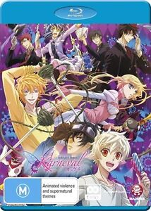 Karneval Complete Collection NEW B Region Blu Ray