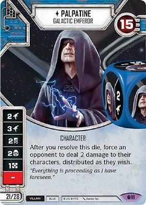 Star Wars Destiny Spirit of the Rebellion 1x Palpatine x1 (Star Wars Destiny Spirit Of The Rebellion)