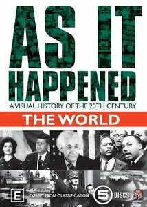 As It Happened: The World DVD R4