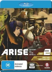 GHOST-IN-THE-SHELL-ARISE-PART-2-Blu-ray-2015-2-Disc-Set-BRAND-NEW