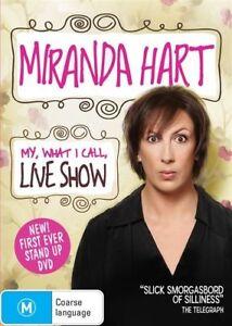 Miranda Hart - My, What I Call, Live Show DVD Region 4 New & Sealed