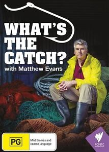 What's The Catch? (DVD, 2015)-FREE POSTAGE