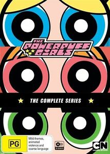 The Powerpuff Girls Classic Collection Limited Edition Season 1-6 DVD box set R4